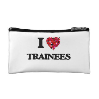 I love Trainees Cosmetic Bag