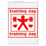 I Love Training Day Greeting Cards