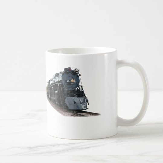 I Love Trains Coffee Mug