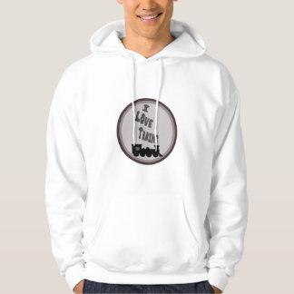 I Love Trains Hoodie/Sweatshirt Hoodie