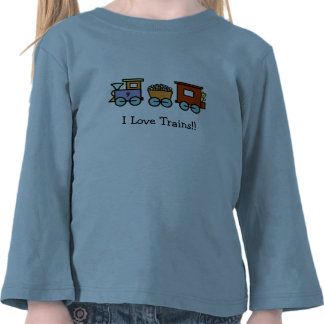 I Love Trains Shirt