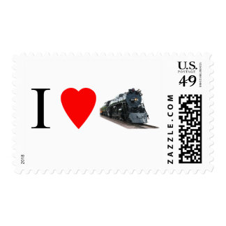 I Love Trains Stamp