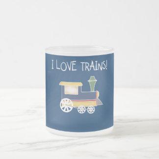 I Love Trains Tshirts and Gifts Coffee Mug