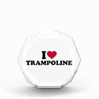 I love trampoline acrylic award