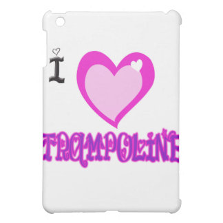 I LOVE Trampoline iPad Mini Cases