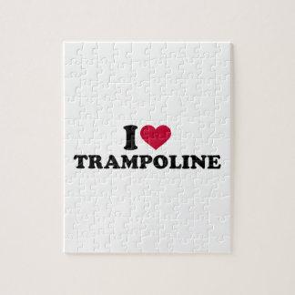 I love trampoline puzzle