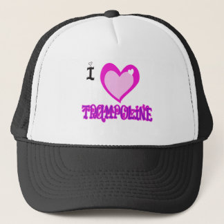 I LOVE Trampoline Trucker Hat