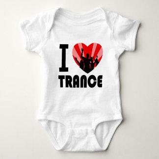 I love Trance Dancers design Baby Bodysuit