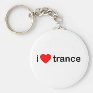 I Love Trance Keychains