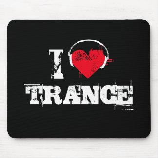 I love trance mouse pad