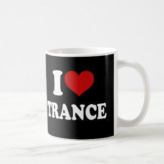 I Love Trance Classic White Coffee Mug