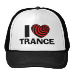 I Love Trance Trucker Hat