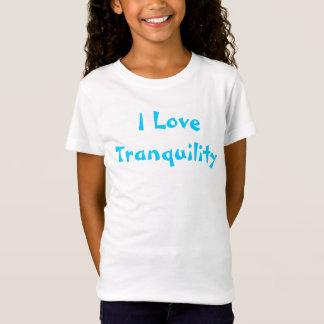 I Love Tranquility Shirt