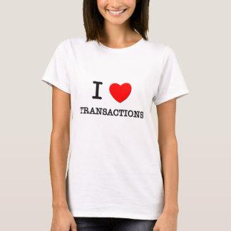 I Love Transactions T-Shirt