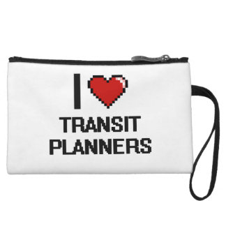I love Transit Planners Wristlet Clutches