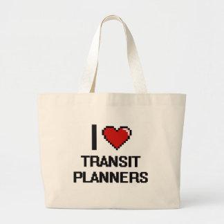 I love Transit Planners Jumbo Tote Bag