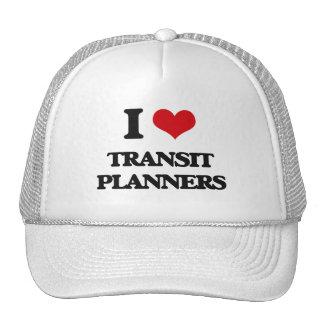 I love Transit Planners Trucker Hats