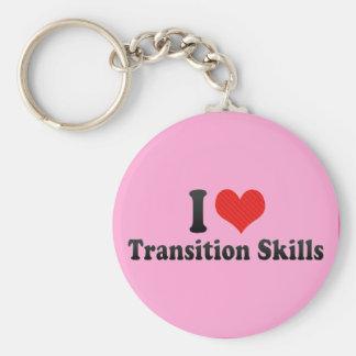 I Love Transition Skills Key Chains