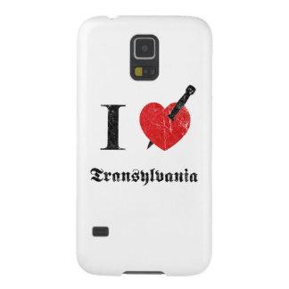 I love Transylvania (black eroded Font) Galaxy S5 Cover