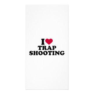I love trap shooting card