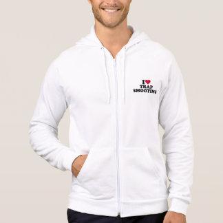 I love trap shooting hoodie