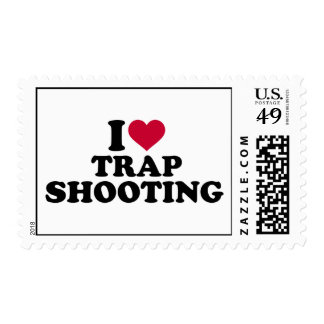 I love trap shooting postage