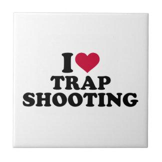 I love trap shooting tile