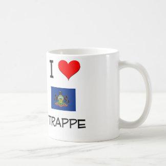 I Love Trappe Pennsylvania Coffee Mugs