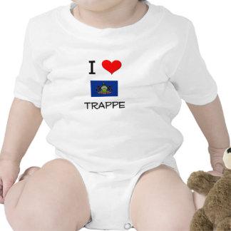 I Love Trappe Pennsylvania Romper