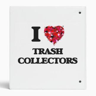 I love Trash Collectors Vinyl Binder