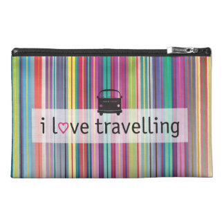 I love traveling travel bag travel accessory bags