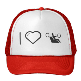 I Love Travellings Trucker Hat