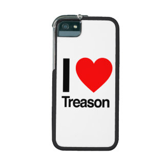 i love treason cover for iPhone 5