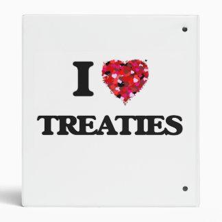 I love Treaties Binders