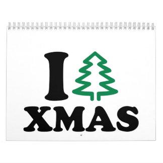 I love tree Xmas Calendar