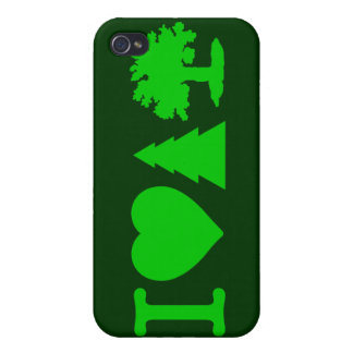 I Love Trees iPhone 4/4S Cases