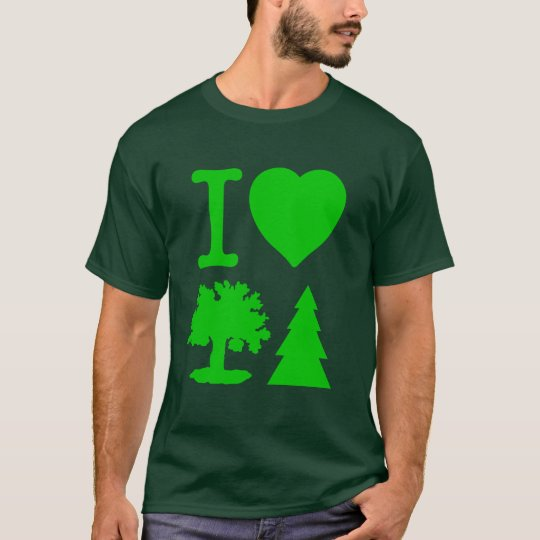 I Love Trees T-Shirt