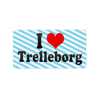 I Love Trelleborg, Sweden Label