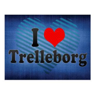 I Love Trelleborg, Sweden Postcard