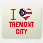I love Tremont City, Ohio Mouse Pad