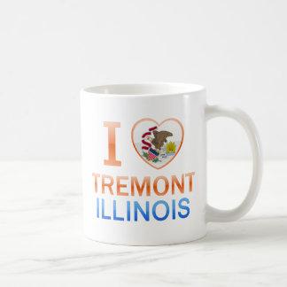 I Love Tremont, IL Classic White Coffee Mug