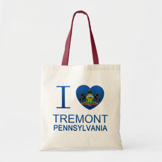 I Love Tremont, PA Budget Tote Bag