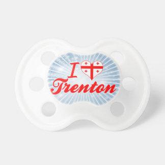 I Love Trenton Georgia Pacifiers