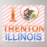 I Love Trenton, IL Poster