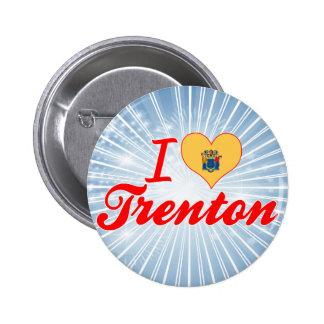 I Love Trenton New Jersey Pins