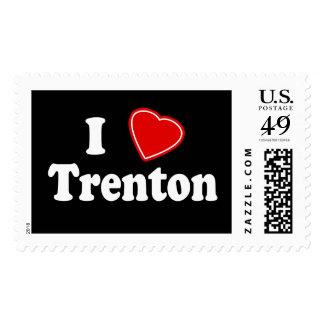 I Love Trenton Postage Stamp