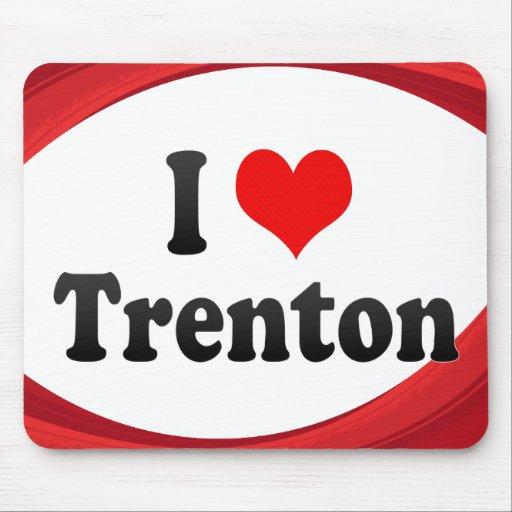 I Love Trenton, United States Mousepads