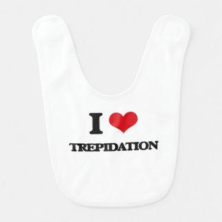 I love Trepidation Baby Bib