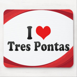 I Love Tres Pontas, Brazil Mouse Pad