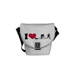 I love triathlon courier bags